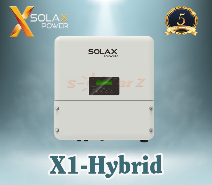 Inverter 3KW SOLAX SINGLE PHASE HYBRID ( LCD + Wifi 2.0 + DC Switch )