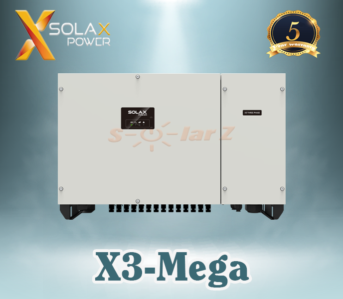 Inverter Hòa Lưới 50KW SOLAX - THREE PHASE ( LCD+ Wifi 2.0 + DC Switch )