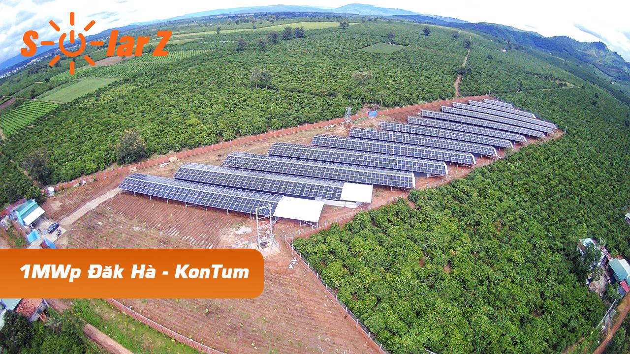 ROOFTOP SOLAR POWER COMBINED WITH HIGH-TECH FARM - KONTUM